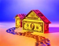 huset gjorde pengar Royaltyfri Foto