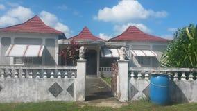 Huset i stranden Arkivbild