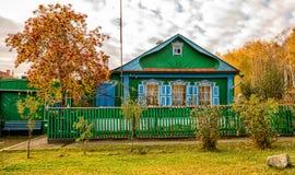 Huset i Uralen Arkivfoton