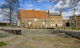 Huset maler, Eastend av London royaltyfria bilder