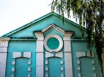 Huset utan wimdows Fotografering för Bildbyråer