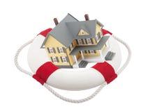 husförsäkring Royaltyfri Bild