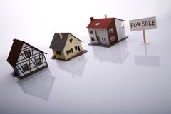 husförsäljning Royaltyfria Foton