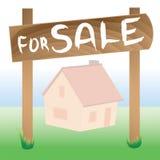 husförsäljning Royaltyfri Fotografi