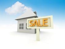 husförsäljning Arkivbilder