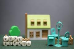 Husfastighetmodell Arkivfoton