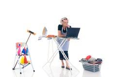 hushållhushållning arkivbild
