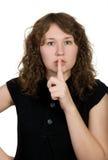 Hush Stock Image