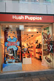 Hush Puppies shoppar i Hong Kong Fotografering för Bildbyråer