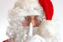 Hush - Santa's coming Stock Image