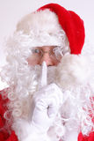 Hush - Santa's coming Stock Images