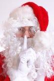 Hush - Santa's coming Stock Images