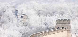 Hushan Great Wall of China, Liaoning Royalty Free Stock Images