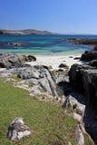 Hushinish wyrzucać na brzeg, wyspa Harris, Szkocja fotografia stock