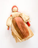 Husk doll. Traditional slovak historical toy - corn husk doll Royalty Free Stock Photo