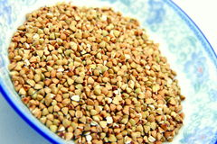 Husked Buckwheat Rice Royalty Free Stock Photos
