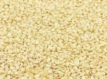 Husked sesame seeds Stock Photo