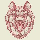 Husky del cane di vettore di Zentangle Fotografia Stock Libera da Diritti