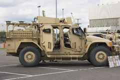 Husky Tactical Support Vehicle Stock Photo