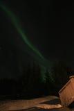 huslampa lofoten nordligt s Royaltyfria Foton