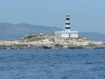 Husljus på havet Royaltyfri Foto