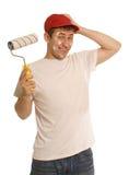 husmålare royaltyfri bild