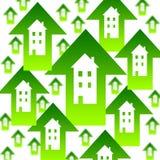 husmarknad stock illustrationer