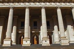 husmelbourne parlament Royaltyfri Fotografi