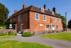 Husmuseum av Jane Austen i Chawton Hampshire sydost Engl Arkivbild