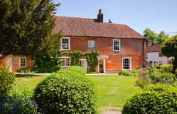 Husmuseum av Jane Austen i Chawton Hampshire sydost Engl Royaltyfri Fotografi