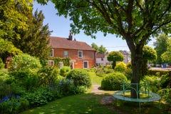 Husmuseum av Jane Austen i Chawton Hampshire sydost Engl Arkivbilder