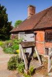 Husmuseum av Jane Austen i Chawton Hampshire sydost Engl Arkivfoton