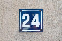 Husnummer Arkivfoton