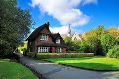 huspark royaltyfria bilder