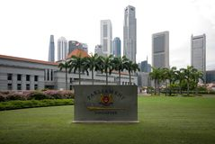 husparlament singapore Arkivbild
