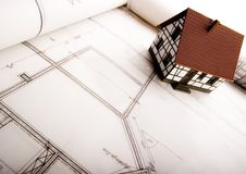 husplan Arkivbilder