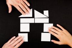 Husplanläggning Fotografering för Bildbyråer
