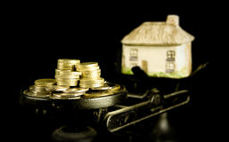 Huspriser Arkivfoton