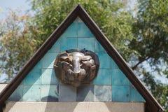 Husprydnad - Gorova av ett rov- djur Royaltyfri Bild
