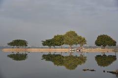 Hussain sagar lake, Tankbund, Andhra Pradesh, India Stock Photo