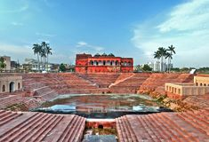 Hussainabad Picture Gallery, Lucknow stock photography