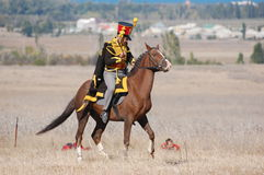 Hussar Royalty Free Stock Photography