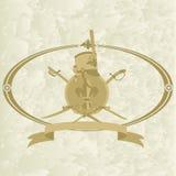 Hussar emblem-2 Stock Image