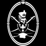 Hussar emblem Stock Photo