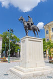 Hussar statue Royalty Free Stock Photography