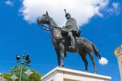 Hussar statue Royalty Free Stock Photos