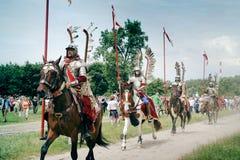 hussars кавалерии Стоковые Изображения