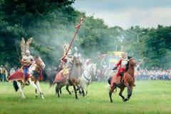 hussars обязанности Стоковые Фото