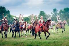 Hussars Images libres de droits