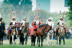 Hussars - Battle of Kluszyn Royalty Free Stock Image